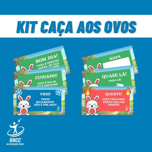 Imagem principal do produto CAÇA OS OVOS - PÁSCOA - BNCC