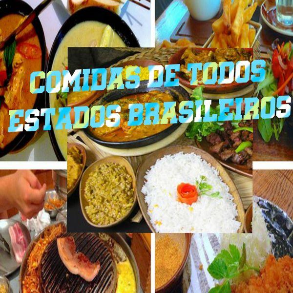 Imagem principal do produto Comida de todos Estados Brasileiros
