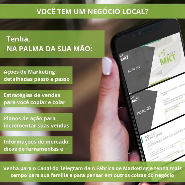 Imagem principal do produto Canal Exclusivo Telegram - AFBR