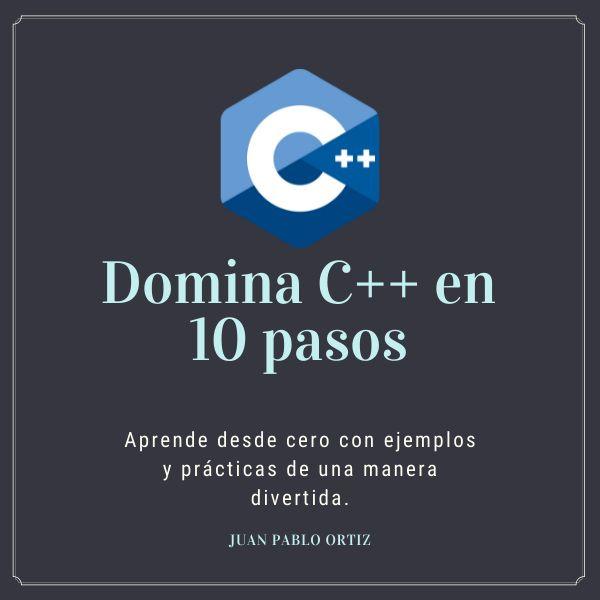 Imagem principal do produto Domina C++ en 10 pasos.