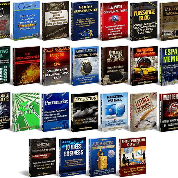 Imagem principal do produto La Franchise Digitale - Formation en Marketing Internet