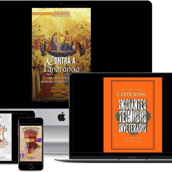 Imagem principal do produto KIT - Livros História Católica