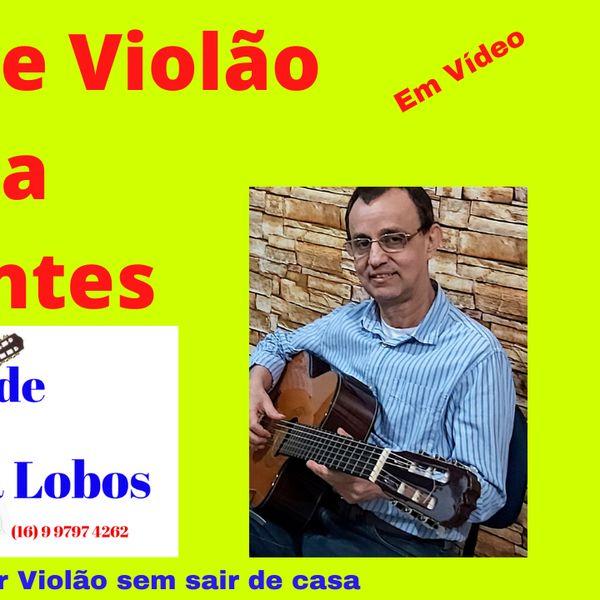 Imagem principal do produto AULA DE VIOLÃO PARA INICÍANTES