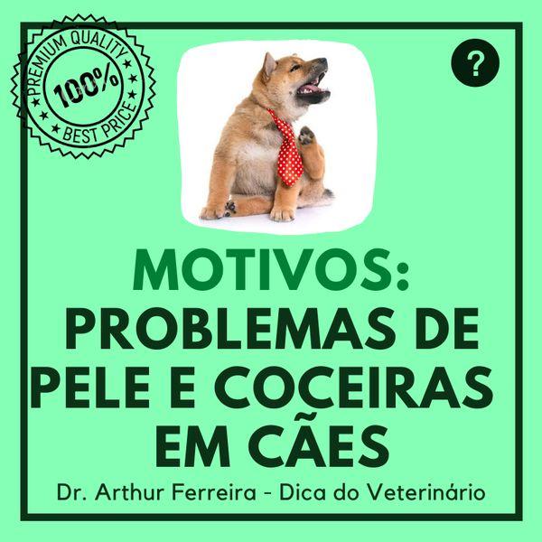 Imagem principal do produto Coceiras e Problemas de Pele em Cães.