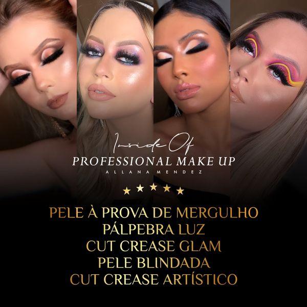 Imagem principal do produto Inside Of Professional Make Up (Combo 3) - 5 Técnicas Profissionais