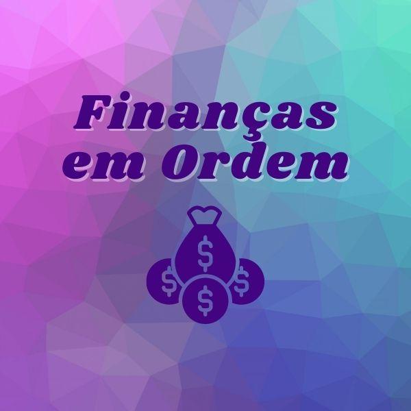 Imagem principal do produto Finanças em Ordem