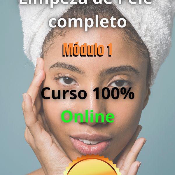 Imagem principal do produto CURSO LIMPEZA DE PELE PROFUNDO MÓDULO 01