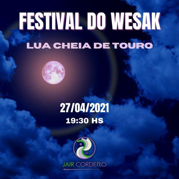 Imagem principal do produto Celebração do Festival do Wesak 2021 - Lua Cheia de Touro