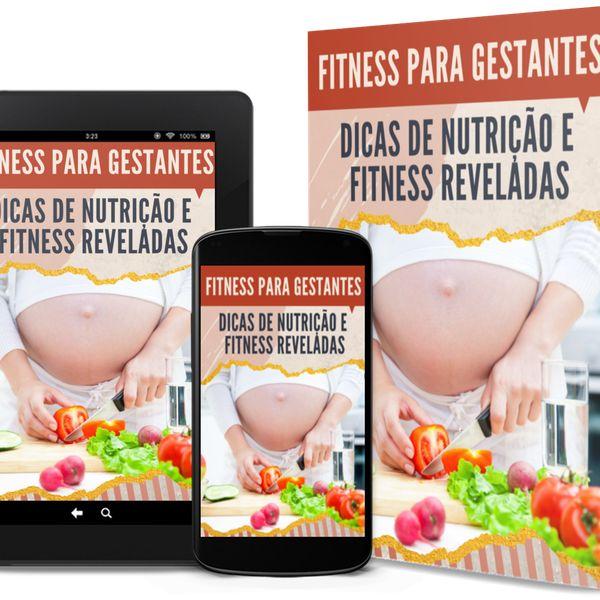 Imagem principal do produto Fitness para Gestantes - Dicas de Nutrição e Fitness Reveladas
