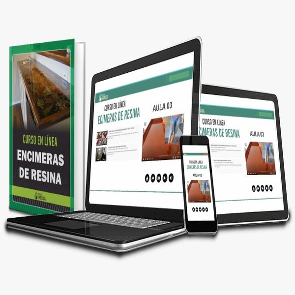 Imagem principal do produto CURSO EN LÍNEA DE ENCIMERAS DE RESINA