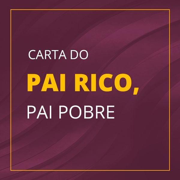 Imagem principal do produto Carta do Pai Rico, Pai Pobre - PCLD