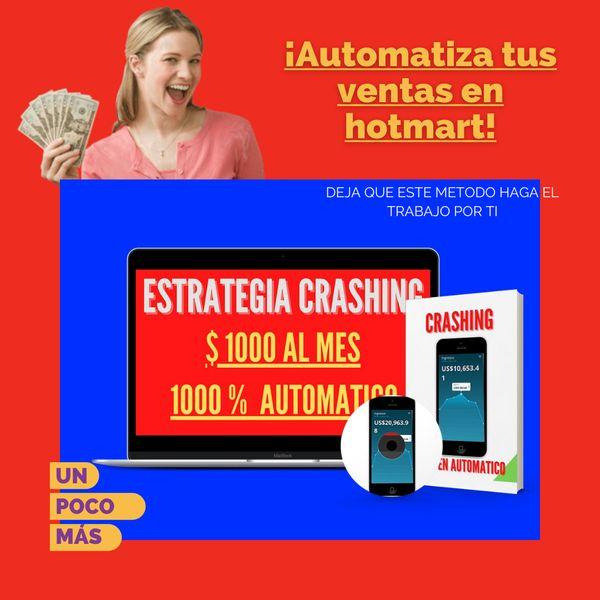 Imagem principal do produto Método Crashing 1000 dólares al mes en  marketing de afiliados 100 % automático