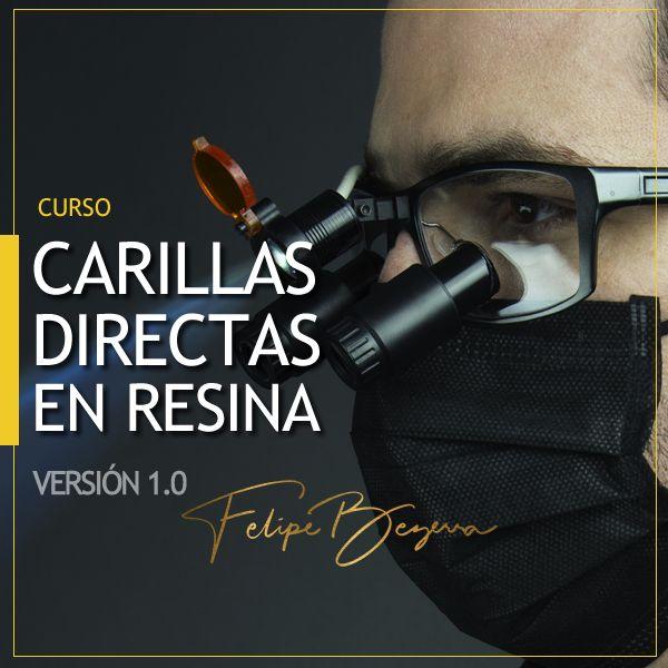 Imagem principal do produto Curso Carillas Directas en Resina 1.0