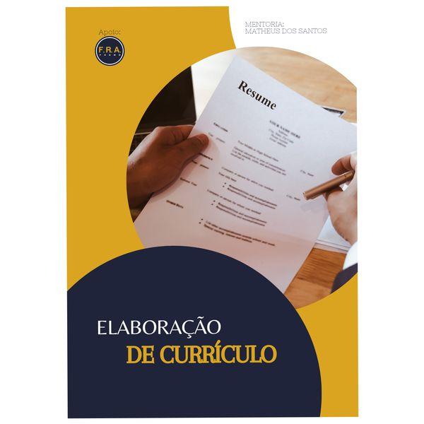 Imagem principal do produto Elaboração de currículo