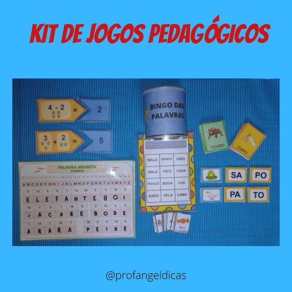 Imagem principal do produto Kit de Jogos Pedagógicos