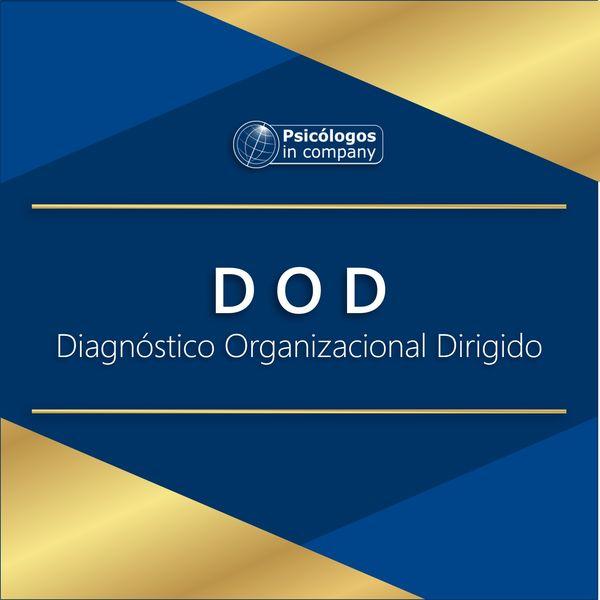 Imagem principal do produto DOD - Diagnósnitico Organizacional Dirigido