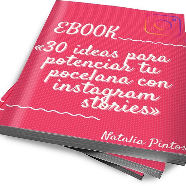 Imagem principal do produto 30  ideas para potencia tu porcelana con instagram stories