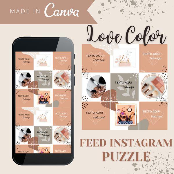 Imagem principal do produto Feed Love color