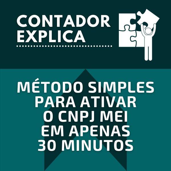Imagem principal do produto Aprenda Ativar CNPJ INAPTO - MEI