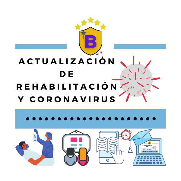 Imagem principal do produto Actualización de rehabilitación y coronavirus