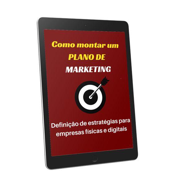 Imagem principal do produto Como Montar um Plano de Marketing