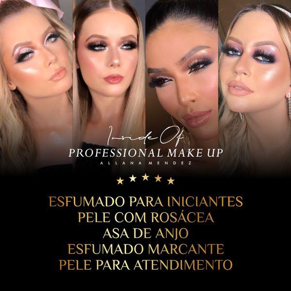 Imagem principal do produto Inside Of Professional Make Up (Combo 4) - 5 Técnicas Profissionais