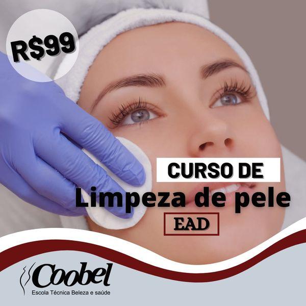 Imagem principal do produto Curso de Limpeza de pele
