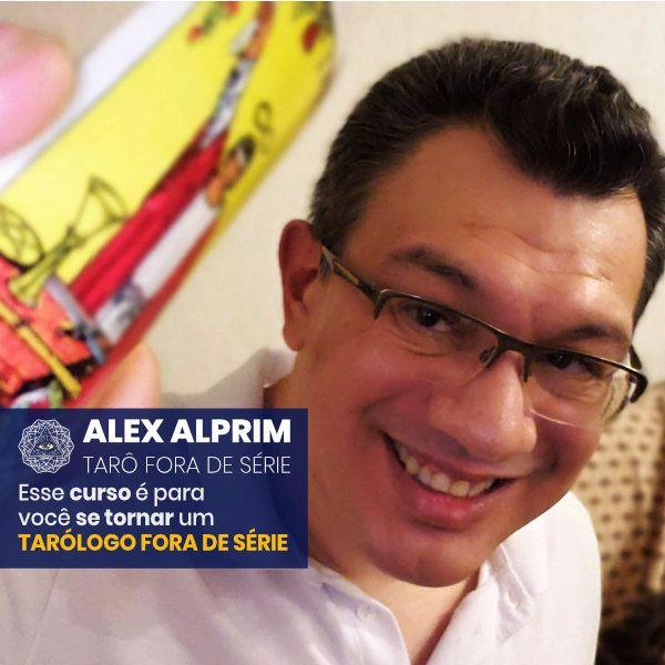 Imagem principal do produto ALEX ALPRIM - TARÔ FORA DE SÉRIE