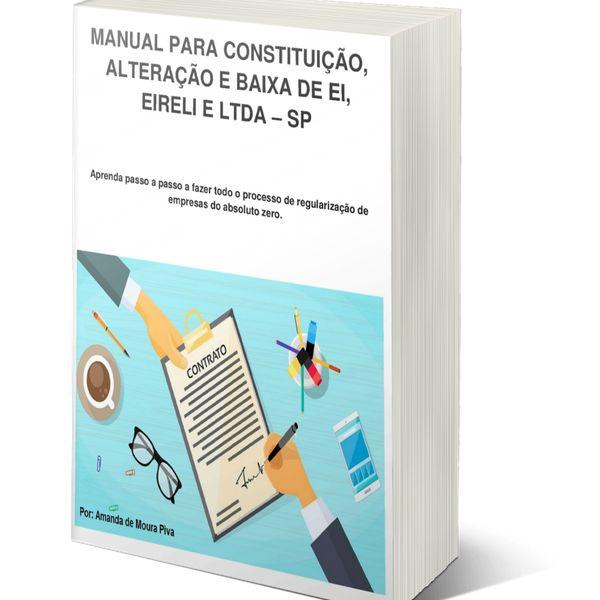 Imagem principal do produto Abertura, Alteração, Legalização e Encerramento de EI, EIRELI, LTDA - SP