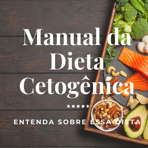 Imagem principal do produto Manual da Dieta Cetogênica