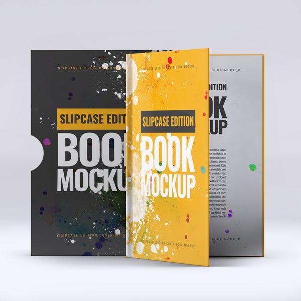 Imagem principal do produto Capa e-Book Magnético - Book Cover Mockup #1 - PSD 100% Editável