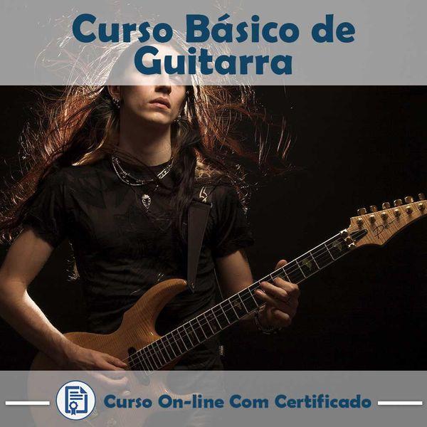 Imagem principal do produto Curso de Guitarra - Básico