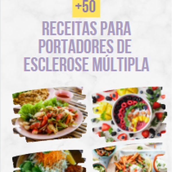 Imagem principal do produto E-book de Receitas para Portadores de Esclerose Múltipla +50