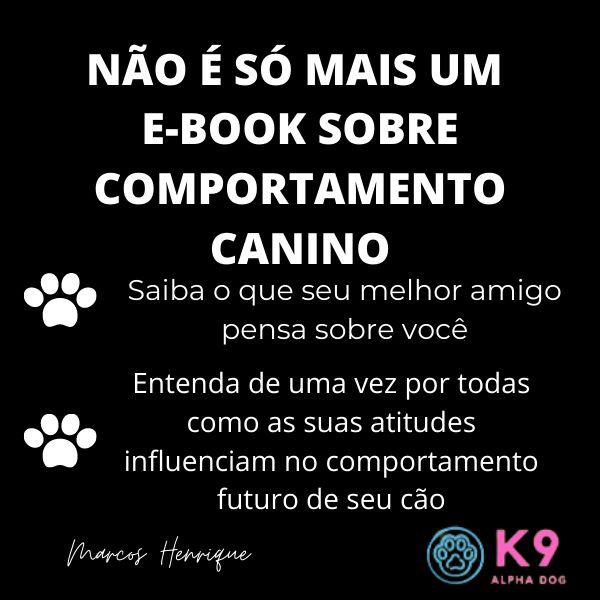 Imagem principal do produto Não é só mais um e-book sobre Comportamento Canino