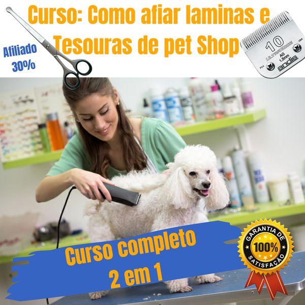 Imagem principal do produto Como amolar laminas e tesoura de pet Shop