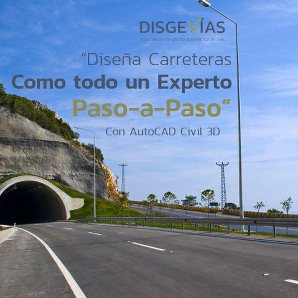Imagem principal do produto Diseña Carreteras como todo un experto Paso a Paso con AutoCAD Civil 3D