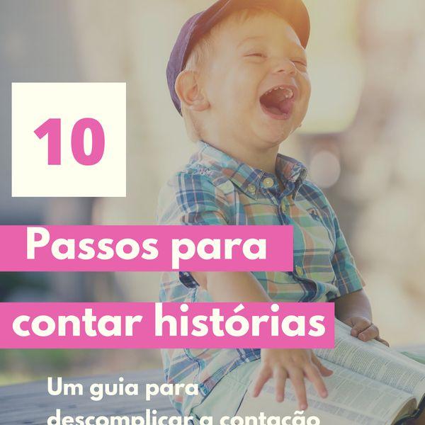 Imagem principal do produto 10 Passos para contar histórias