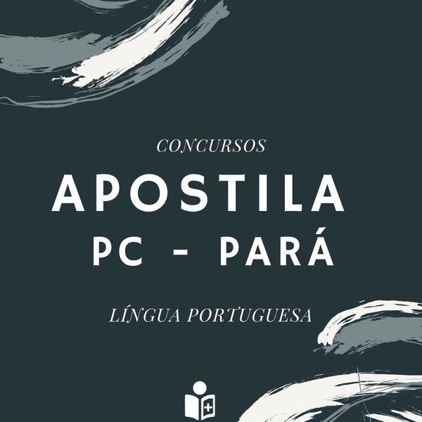 Imagem principal do produto Apostila Polícia Civil - Pará
