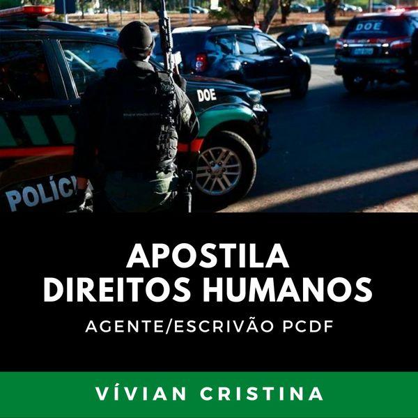 Imagem principal do produto APOSTILA DIREITOS HUMANOS PCDF