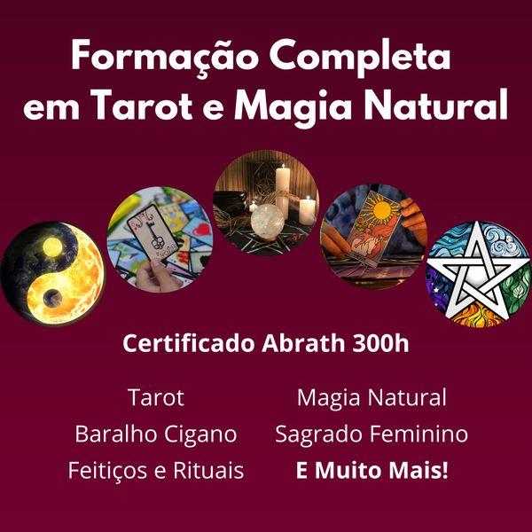 Imagem principal do produto Formação Completa em Tarot e Magia Natural