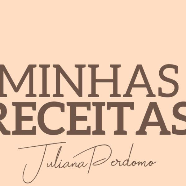 Imagem principal do produto E-book receitas exclusivas Juliana Perdomo