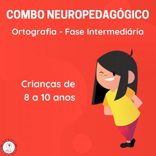 Imagem principal do produto COMBO 6 – Ortografia – Fase intermediária (8 a 10 anos)