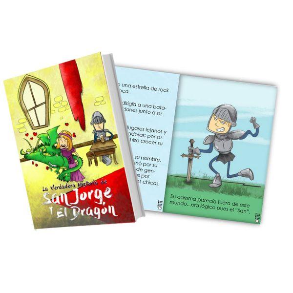 Imagem principal do produto Ebook la Verdadera Historia de San Jorge y el Dragón