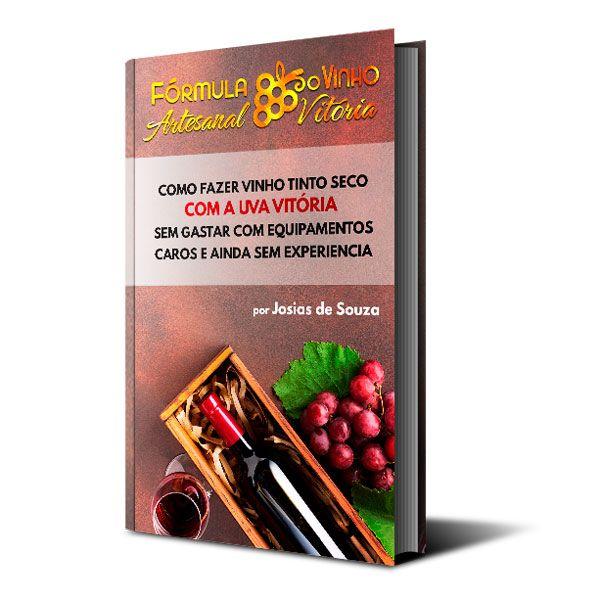 Imagem principal do produto Ebook Como fazer Vinho Tinto Seco com a Uva Vitória