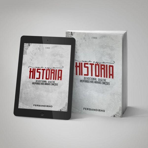 Imagem principal do produto Devocional Uma Nova História - Fernandinho (Março)