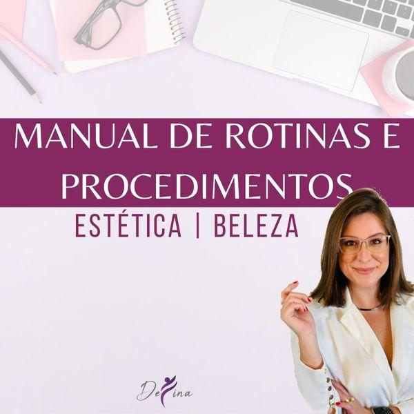 Imagem principal do produto Manual de Rotinas e Procedimentos na Estética e Beleza