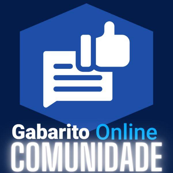 Imagem principal do produto Comunidade Gabarito Online