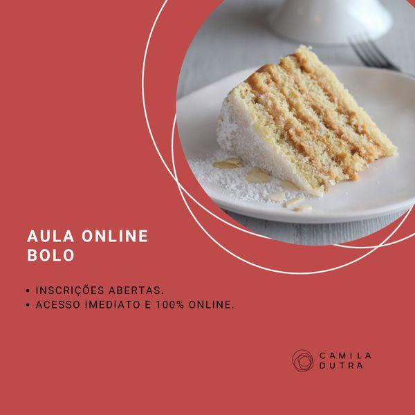 """Imagem principal do produto Aula AO VIVO """"Bolo bem-casado"""""""