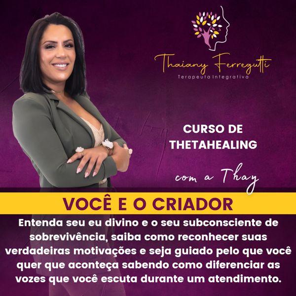 Imagem principal do produto Curso de Thetahealing - Você e o Criador