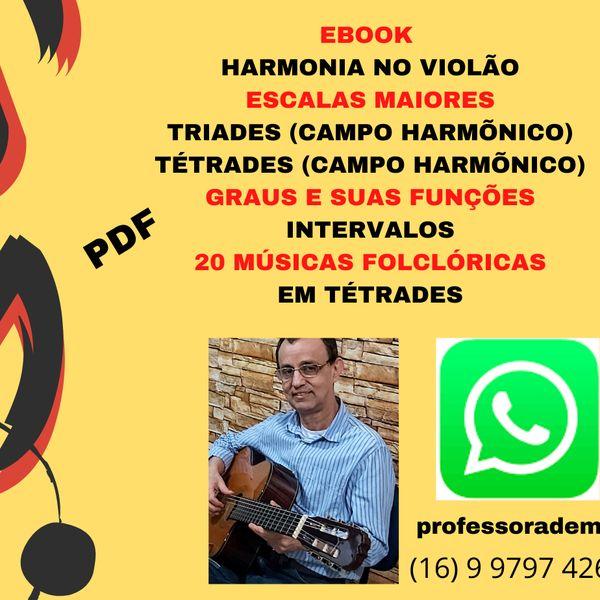 Imagem principal do produto Harmonia no Violão